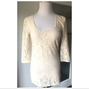 BNWT Free People Intimately lace top